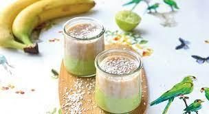 Hirsegrøt med avokado, banan og linfrøolje
